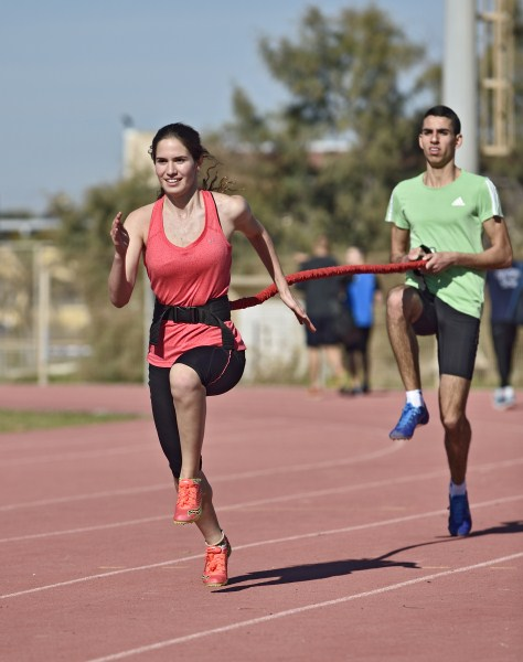 האתלטים הצעירים במחנה האימון בחנוכה (צילום: טיבור יגר)
