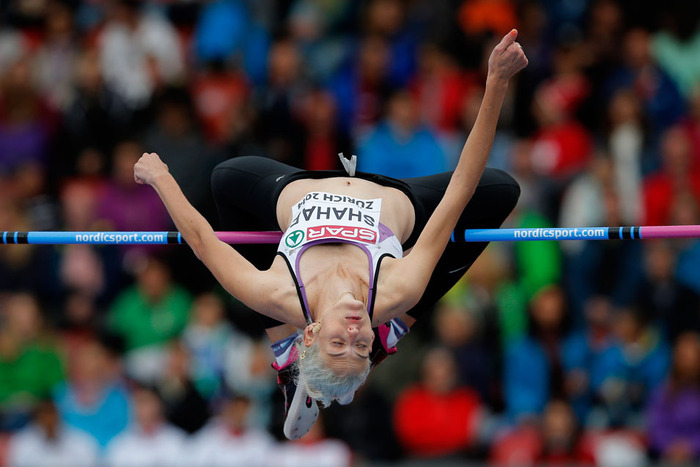 המנצחת בתוצאה האיכותית בתחרות  צילום באדיבות IAAF