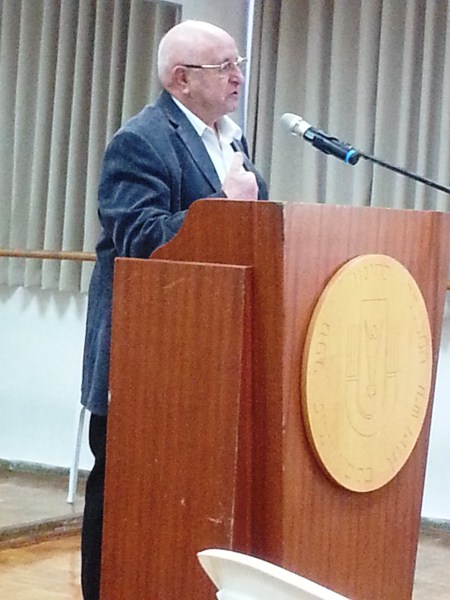 מזל טוב לסטפן קובלסקי שנשא דבריו היום באירוע שנערך לכבודו במכללה בוינגייט
