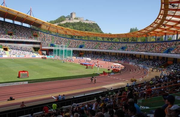 האצטדיון בלייריה שאירח את התחרות היום