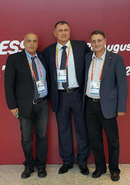 המפגש האחרון בין ראשי האיגוד הישראלי לנשיא ההתאחדות הבלקנית