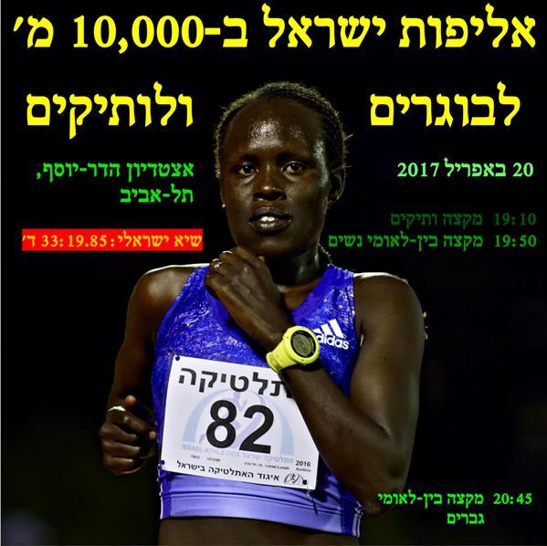 קורלימה תנסה לקבוע שיא ישראלי שלישי (צילום: טיבור יגר)