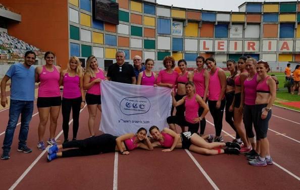 תמונה קבוצתית בפורטוגל (צילום מתוך דף הפייסבוק הרשמי של הישגים ראשל