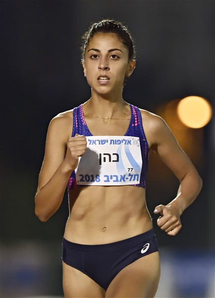 שיא ישראלי וגמר אירופי לאדווה כהן (צילום: טיבור יגר)