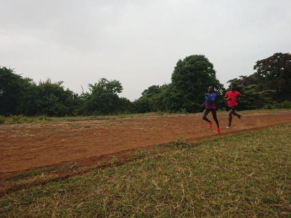 סלפטר במהלך מחנה האימון באלדורט שבקניה