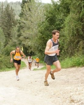 דן סלפטר באחת מאליפויות ישראל בריצת הרים